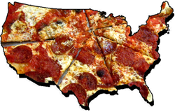 pizza map